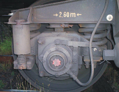 teleskopický tlumič podvozku GP 200